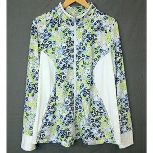 Eleven by Venus Floral Plus Size Active Jacket 2x